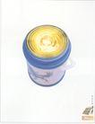 家电及关联品0021,家电及关联品,中国广告作品年鉴2004,保温瓶 黄光 蓝色