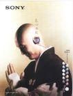 文化公共服务及其他0017,文化公共服务及其他,中国广告作品年鉴2004,耳机 和尚 阿弥陀佛