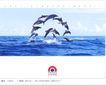金融保险0024,金融保险,中国广告作品年鉴2004,广阔的海洋 海豚 表演