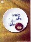 食品0019,食品,中国广告作品年鉴2004,白色 古人 古树