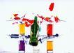 公益0007,公益,中国广告摄影年鉴,啤酒 杯子 五颜六色