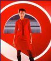 商业人相及服装0013,商业人相及服装,中国广告摄影年鉴,红色女郎 漂亮 模特