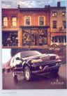 汽车摩托车广告创意0082,汽车摩托车广告创意,国际知名品牌广告创意,天空 街道 房子