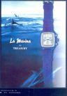 珠宝手表广告创意0085,珠宝手表广告创意,国际知名品牌广告创意,海豚 海洋 蓝色