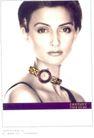 珠宝手表广告创意0087,珠宝手表广告创意,国际知名品牌广告创意,短发 项链 吊带衣
