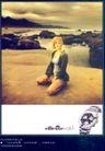 珠宝手表广告创意0090,珠宝手表广告创意,国际知名品牌广告创意,海滩 岩石 天空