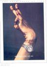珠宝手表广告创意0097,珠宝手表广告创意,国际知名品牌广告创意,手部 肢体 手表广告