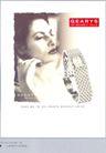 珠宝手表广告创意0115,珠宝手表广告创意,国际知名品牌广告创意,广告女郎 QEARYS手表