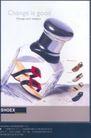 箱包皮鞋广告创意0108,箱包皮鞋广告创意,国际知名品牌广告创意,玻璃瓶 SHOEX鞋