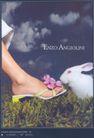 箱包皮鞋广告创意0121,箱包皮鞋广告创意,国际知名品牌广告创意,白兔 拖鞋