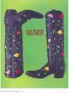 箱包皮鞋广告创意0125,箱包皮鞋广告创意,国际知名品牌广告创意,黑色长靴 印花