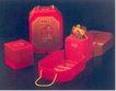 董继湘作品004,特邀设计师作品,广东设计年鉴2004,平面设计 红色盒装