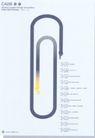 马牧作品002,设计师作品一,广东设计年鉴2004,回形针 手指 黄色手
