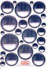 设计形式0084,设计形式,广告设计定位,自贩机 圆形 分割线