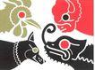 日本平面设计年鉴20050164,日本平面设计年鉴2005,日本广告作品专辑,公鸡 狗儿 绵羊