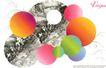 日本平面设计年鉴20050168,日本平面设计年鉴2005,日本广告作品专辑,彩圆球 黑白 大自然