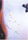 日本海报设计0049,日本海报设计,日本广告作品专辑,蝴蝶 放飞 翅膀