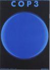 日本海报设计0083,日本海报设计,日本广告作品专辑,蓝色 圆形 英语