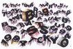 日本海报设计0085,日本海报设计,日本广告作品专辑,字母 数字 立体