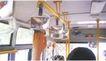 户外获奖作品0089,户外获奖作品,11届中国广告节获奖作品,公交车 拉手 反光镜