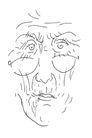 凯瑞.皮蓬作品集0112,凯瑞.皮蓬作品集,世界设计名家,老人 戴着眼镜