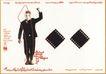 列扎.阿贝迪尼作品集0084,列扎.阿贝迪尼作品集,世界设计名家,胶卷底片 黑礼服 男士