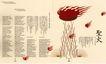 原研哉作品世界0081,原研哉作品世界,世界设计名家,圣火 文字 红色