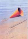 孔乔作品集0033,孔乔作品集,世界设计名家,鱼儿 喇叭 呐喊