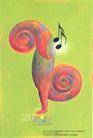 孔乔作品集0034,孔乔作品集,世界设计名家,音乐 符号 彩绘