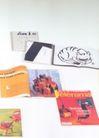 孔乔作品集0061,孔乔作品集,世界设计名家,翻开的杂志