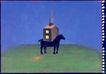 孔乔作品集0070,孔乔作品集,世界设计名家,马匹