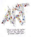 府烈茶作品集0007,府烈茶作品集,世界设计名家,字母 线条 站立 形象 比喻 点缀