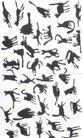 府烈茶作品集0043,府烈茶作品集,世界设计名家,动物 猫 群英会