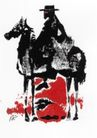 格巴特.施瓦作品集0100,格巴特.施瓦作品集,世界设计名家,骑马 拓印