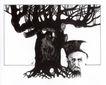 格巴特.施瓦作品集0121,格巴特.施瓦作品集,世界设计名家,树根 人头