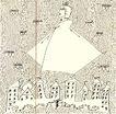 王冠咏作品集0037,王冠咏作品集,世界设计名家,风衣 城镇 房子