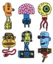 王翰尼作品集0048,王翰尼作品集,世界设计名家,插头 电路 零件