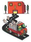 王翰尼作品集0058,王翰尼作品集,世界设计名家,货车 运货 司机