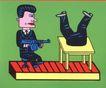 王翰尼作品集0069,王翰尼作品集,世界设计名家,拿枪的人
