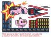王翰尼作品集0082,王翰尼作品集,世界设计名家,高楼 卡通人物 运动