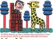 王翰尼作品集0091,王翰尼作品集,世界设计名家,卡通画 动物