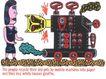 王翰尼作品集0092,王翰尼作品集,世界设计名家,火车 动物