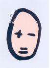 白同异作品集0045,白同异作品集,世界设计名家,墨笔 笔画 表情