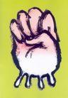 白同异作品集0047,白同异作品集,世界设计名家,拳头 五指  手势