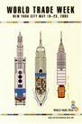 皮埃尔.迪休洛作品集0015,皮埃尔.迪休洛作品集,世界设计名家,火箭 样式  发明 新型 起飞 准备 发射 week 海报 POP 招贴 宣传画 国外设计 名家设计 宣传单张