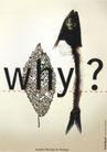 米歇尔.布韦作品集0049,米歇尔.布韦作品集,世界设计名家,树叶 Why 问号