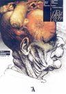 蒙古齐作品集0053,蒙古齐作品集,世界设计名家,皱纹 侧脸 脑袋