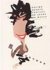 教育娱乐0077,教育娱乐,中国优秀商业设计,抽象女性