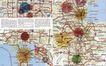 科技电子0061,科技电子,中国优秀商业设计,半岛 地图 英文 国外