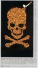 公益0010,公益,中国广告作品年鉴2006,窟窿头 烟  危害 健康 杀手  自作自受